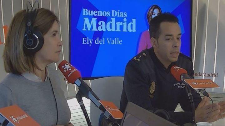 """Javier González, policía destinado a la UFAM en Arganzuela : """"Para que no te maten hay que denunciar"""""""