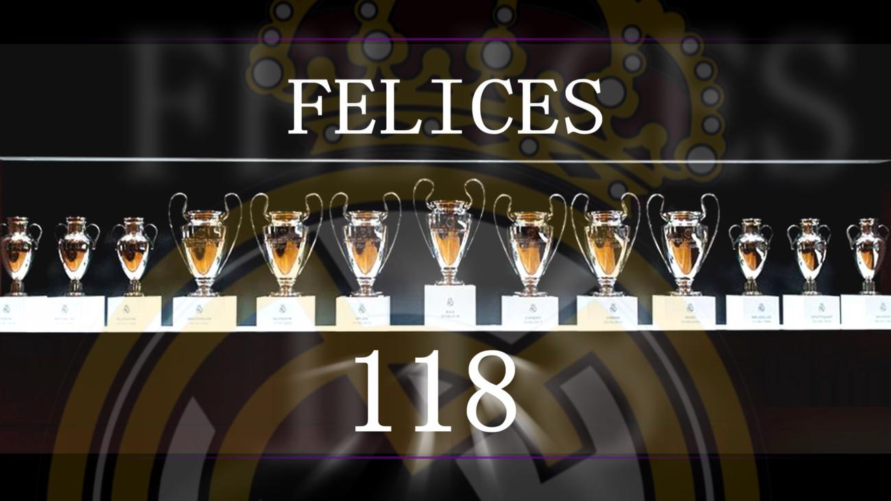 El Real Madrid celebra su 118 aniversario