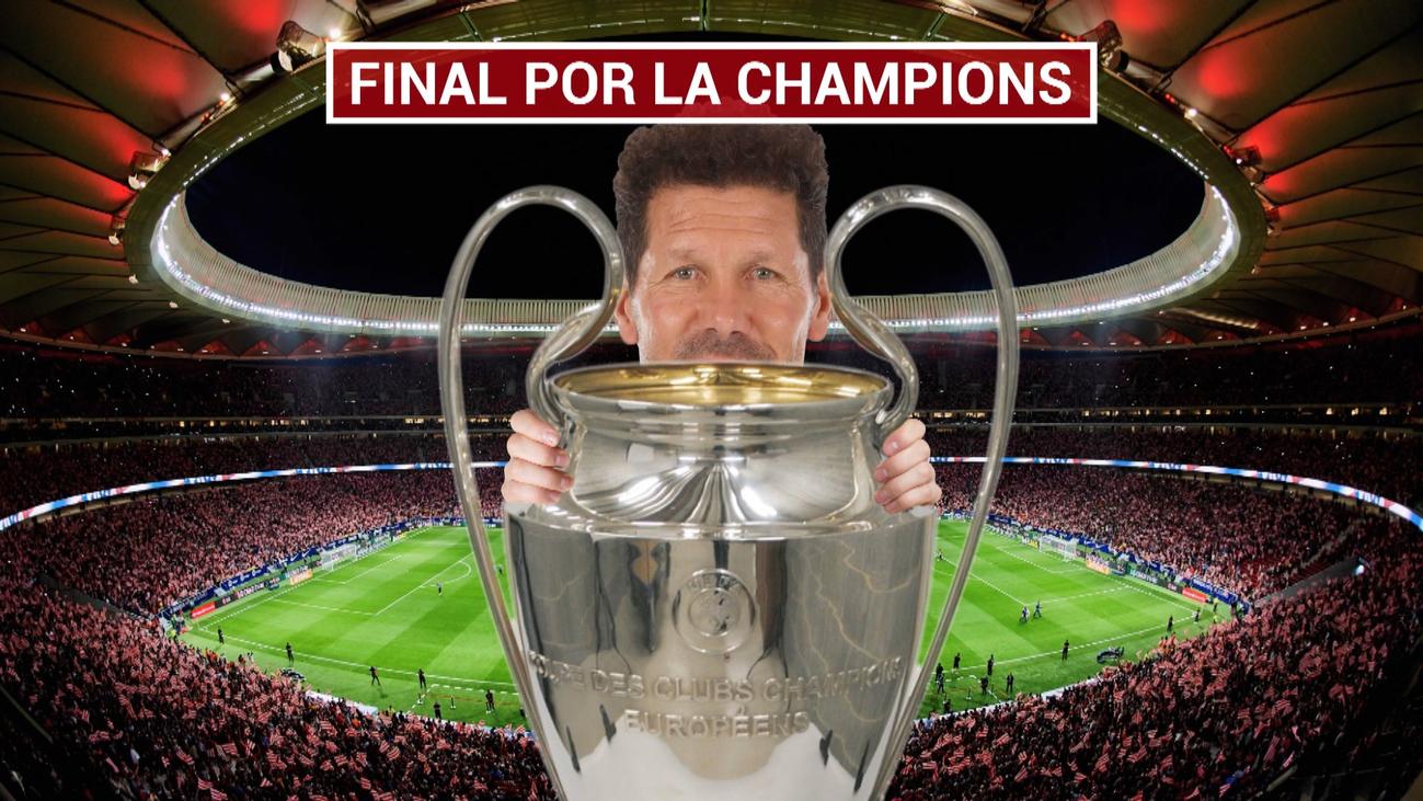 """Simeone: """"¿Presión por Sevilla y Liverpool? No, ilusión por lograr objetivos"""""""