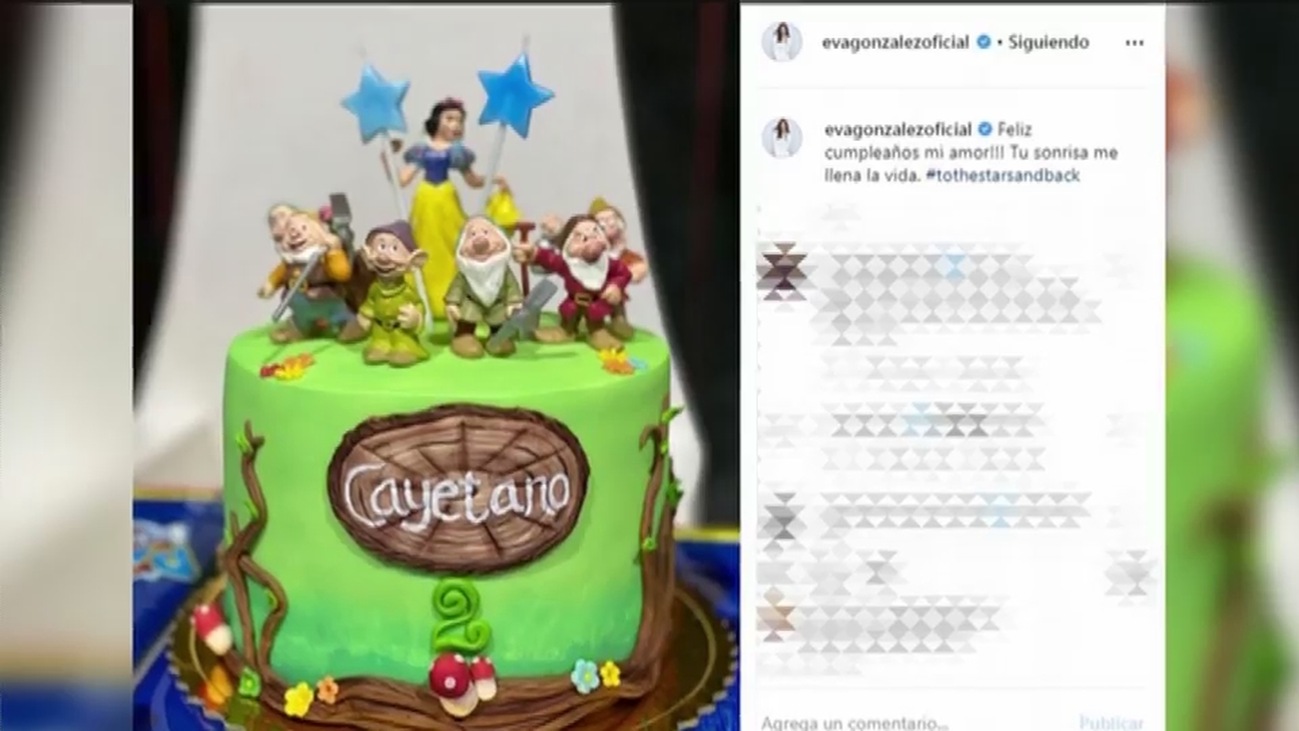 Así han celebrado Eva González y Cayetano Rivera el cumpleaños de su hijo