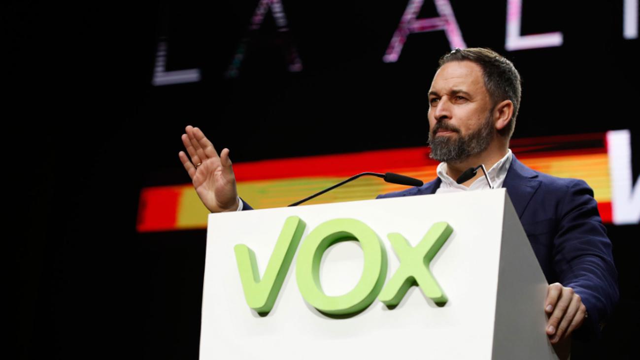 """Vox arremete contra el 8-M y define como un """"aquelarre"""" las movilizaciones"""