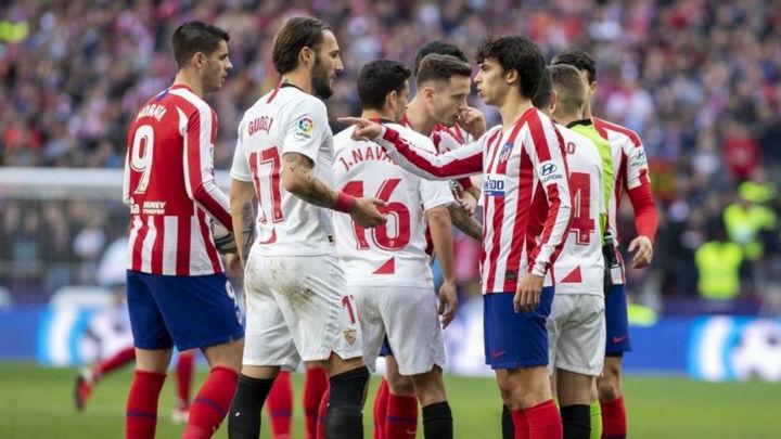 2-2. Atlético y Sevilla empatan en un partido marcado por el VAR