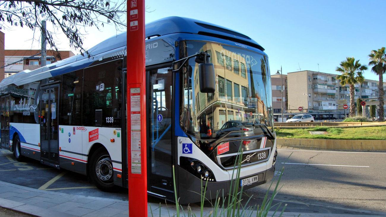 Nueva parada de autobús en Parla