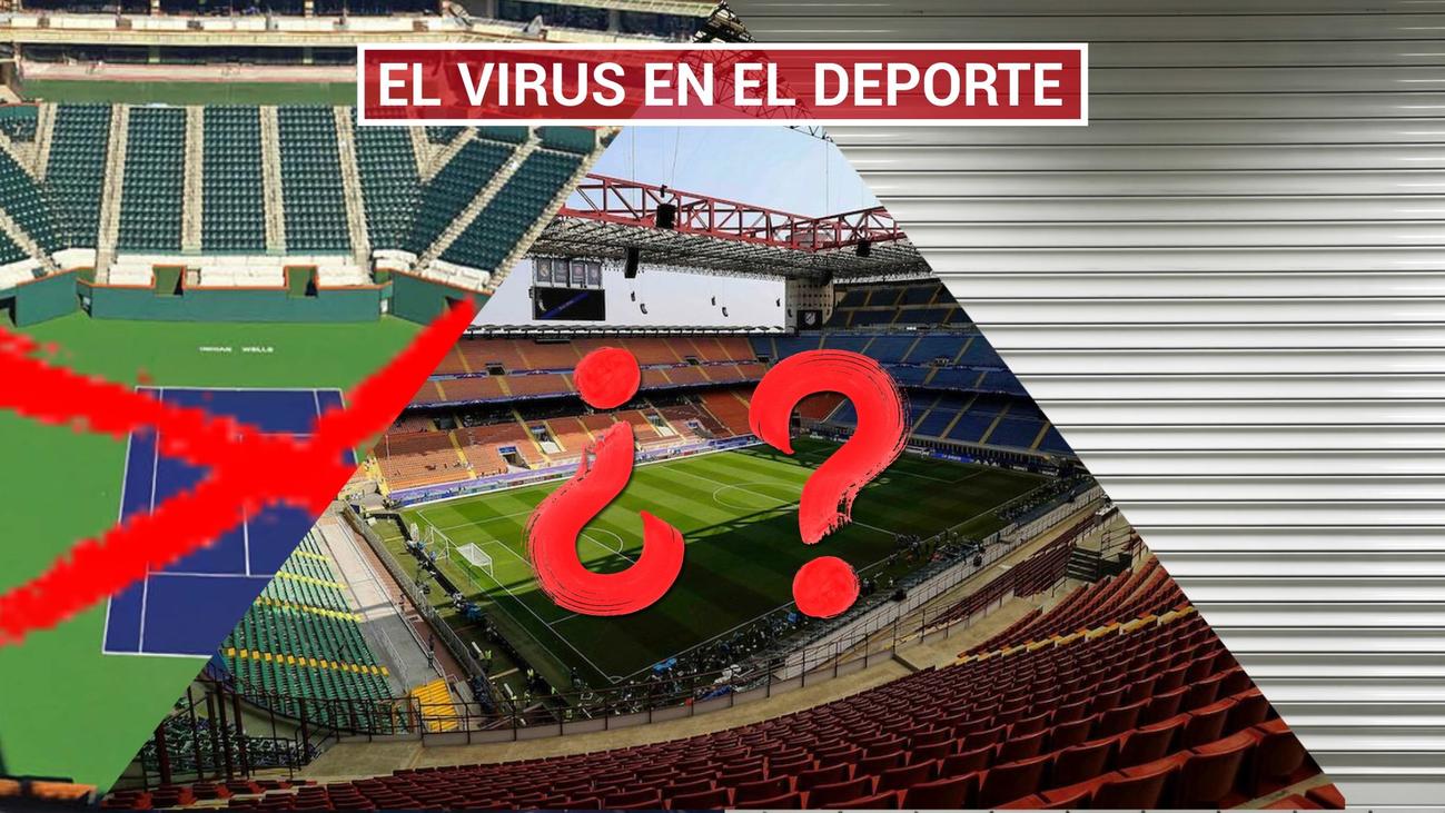 El coronavirus contagia al deporte mundial