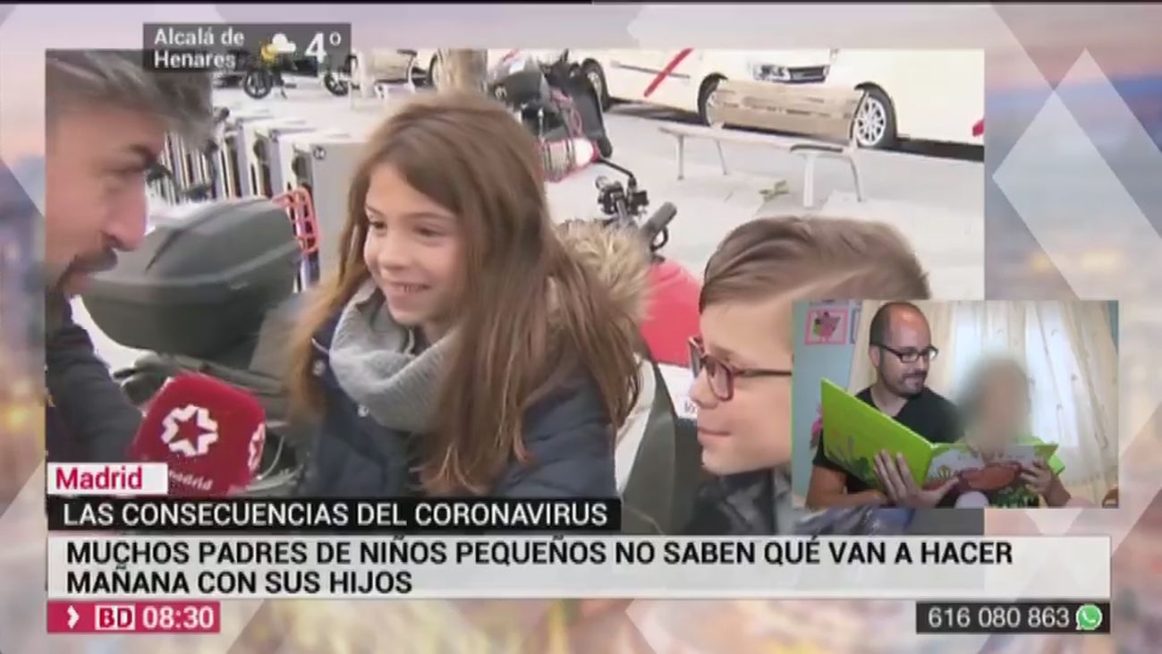 Buenos Días Madrid 10.03.2020 (8.00 - 9.00)