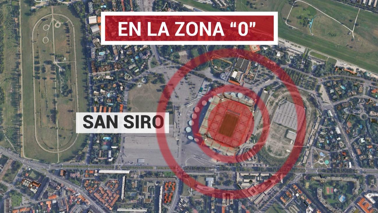 El Inter-Getafe se jugará en la zona de riesgo del coronavirus