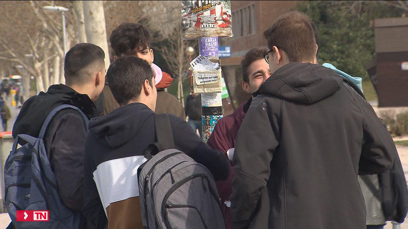 Preocupación entre los universitarios por la cancelación de las clases