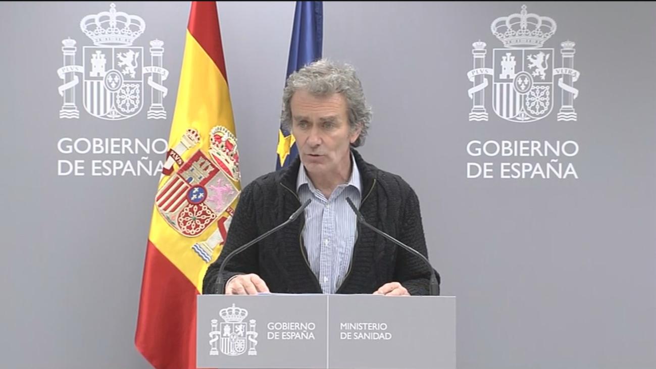 """Fernando Simón: """"""""El impacto de las medidas de control no se verá antes de 9 ó 10 días"""""""