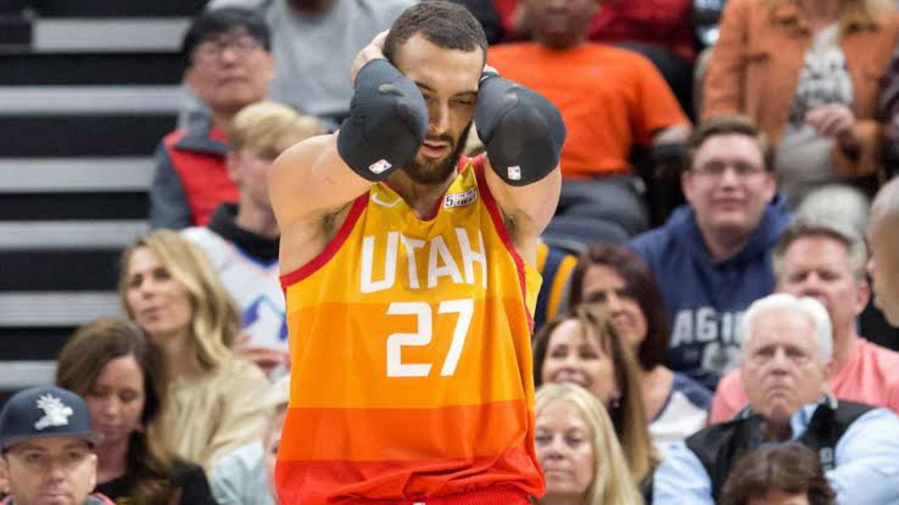 La NBA suspende la temporada tras el positivo por coronavirus de Gobert
