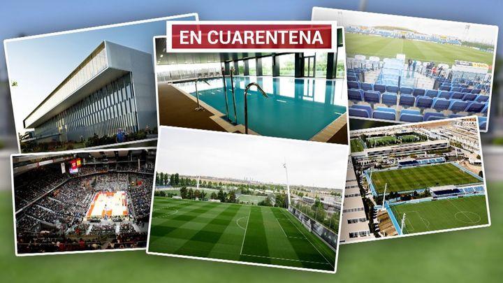 El Real Madrid de fútbol y baloncesto, en cuarentena tras un positivo de coronavirus