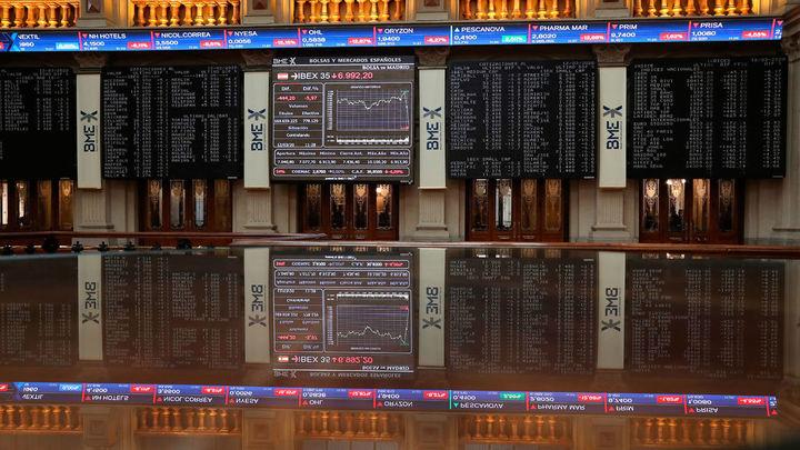 El Ibex 35 se desploma un 14% en la peor sesión de su historia
