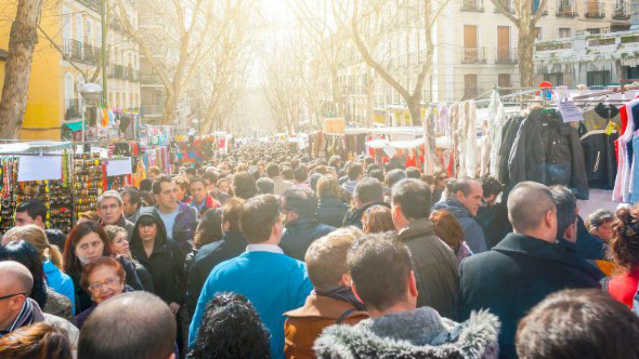 Madrid suspende la tasa de ocupación de los comerciantes del Rastro durante la pandemia