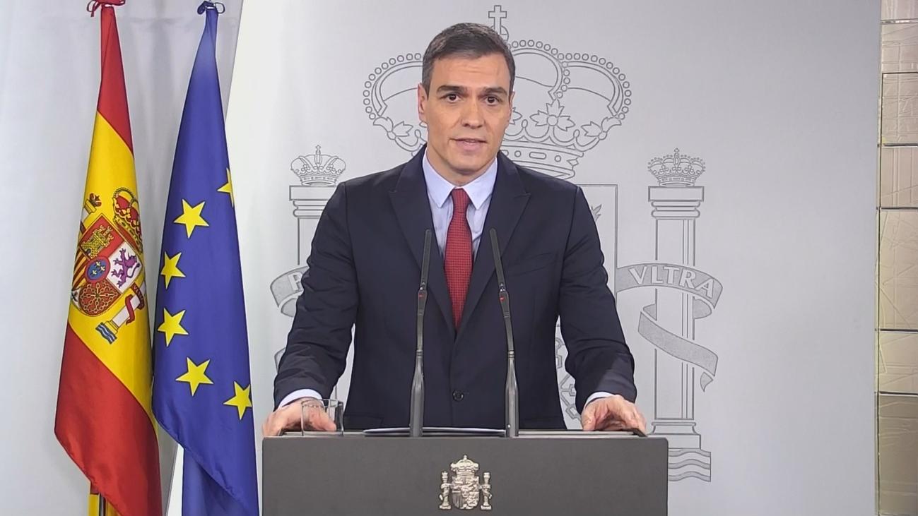 """Pedro Sánchez: """"Este virus lo pararemos unidos"""""""