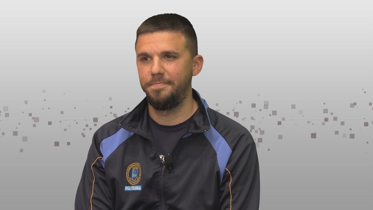 Entrevista a Álvaro Tejero, entrenador del equipo de voleibol de UPM