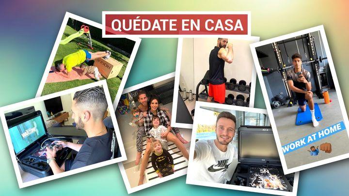 El deporte español se une a las campañas #QuédateEnCasa y #YoMeQuedoEnCasa