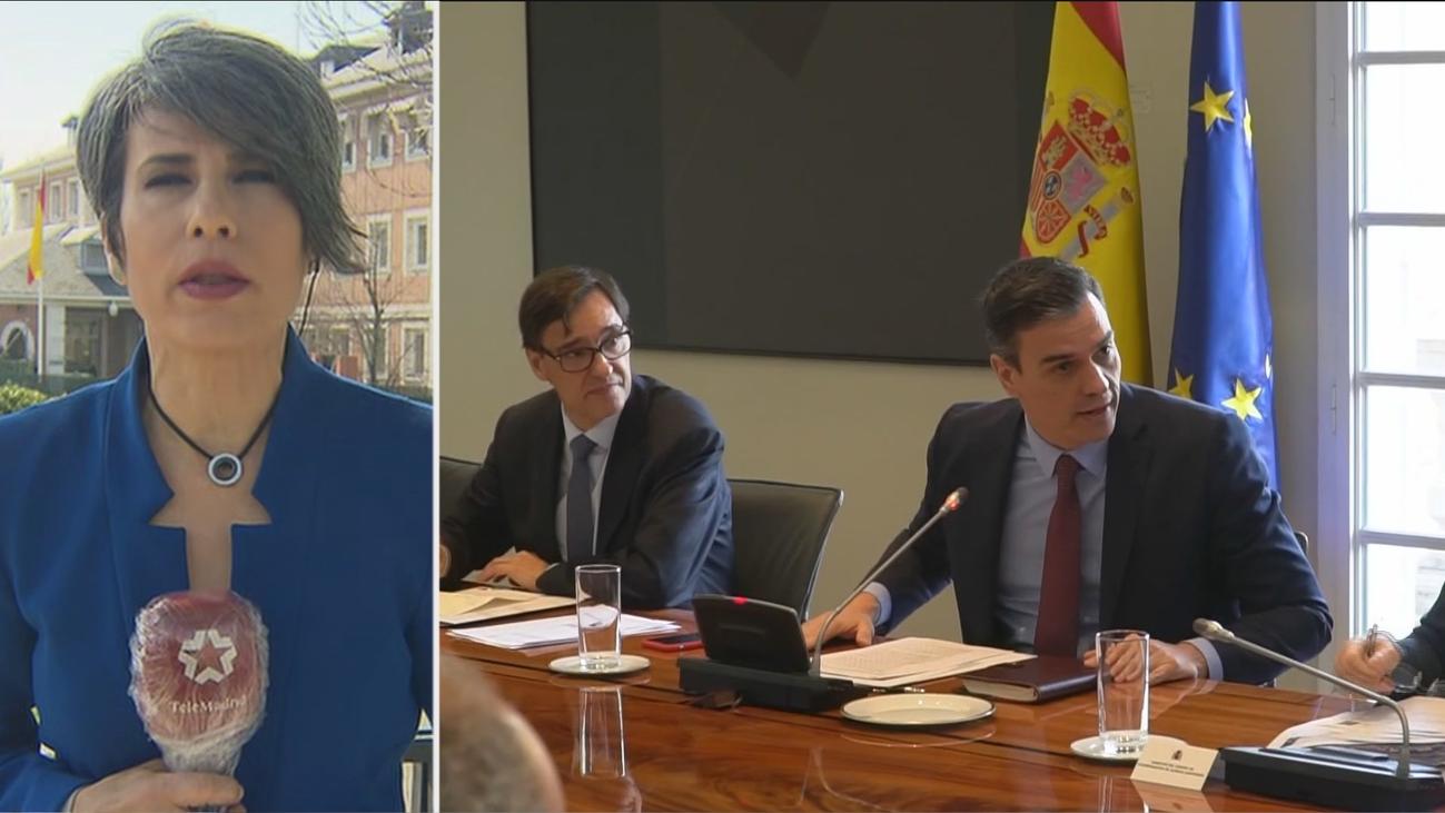 Comienza la videoconferencia de Sánchez y presidentes autonómicos por el coronavirus