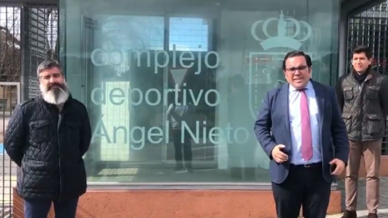 Boadilla ofrece a Sanidad el complejo deportivo Ángel Nieto y el polideportivo Rey Felipe VI