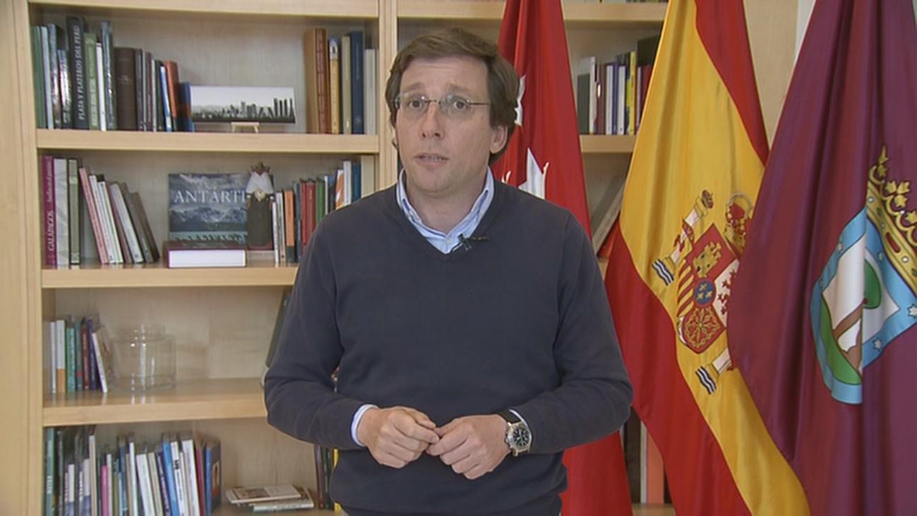 """Almeida, en Telemadrid: """"Si no funcionan las medidas que hay ahora, habrá que ir a medidas más restrictivas"""""""