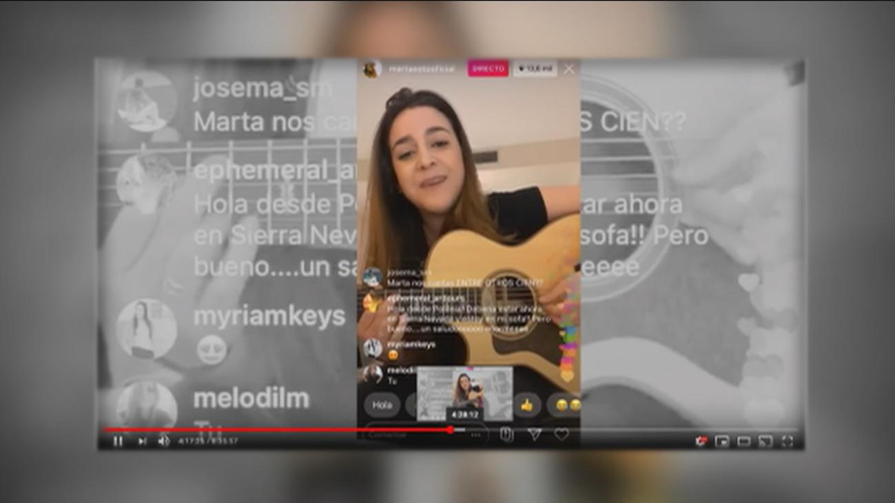 El coronavirus dispara los conciertos online de artistas famosos