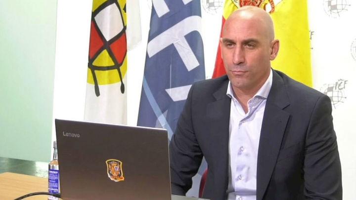 Rubiales  descarta que el Barça sea campeón sin jugar