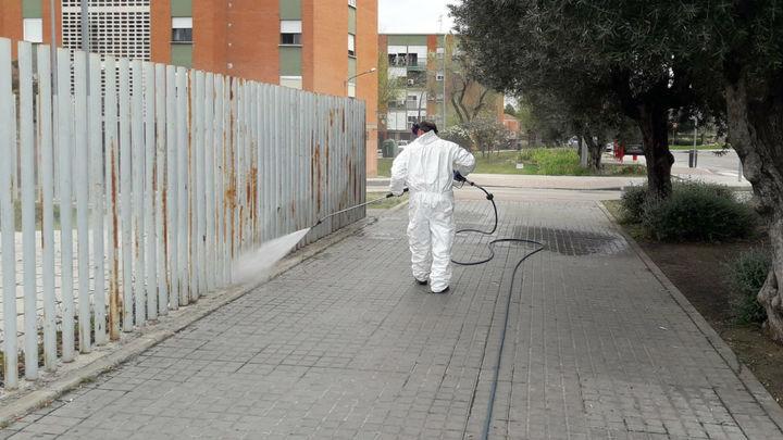 Aranjuez intensifica la limpieza y desinfección de las zonas más sensibles