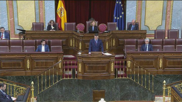 """Sánchez anuncia una comisión que revisará el sistema de salud y unos Presupuestos de """"reconstrucción"""""""
