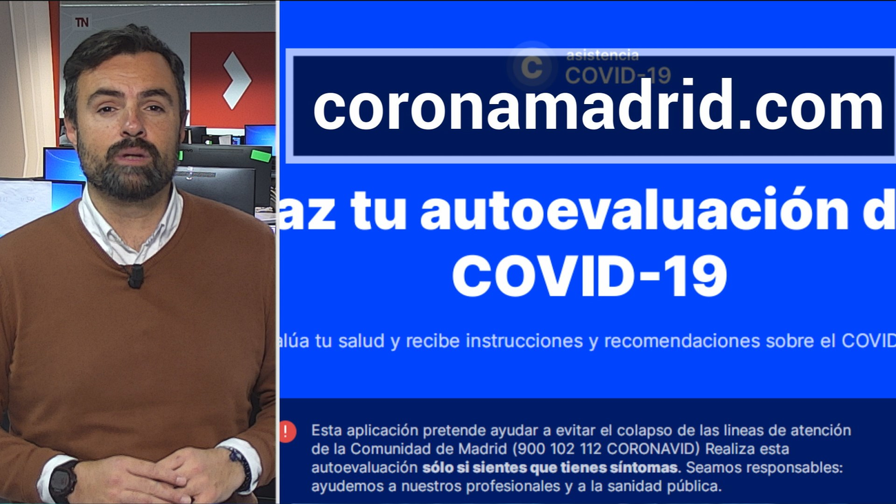 Una web para autoevaluar si se tiene coronavirus