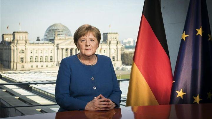 """Merkel pide unidad ante """"el mayor desafío al que se enfrenta Alemania desde la Segunda Guerra Mundial"""""""