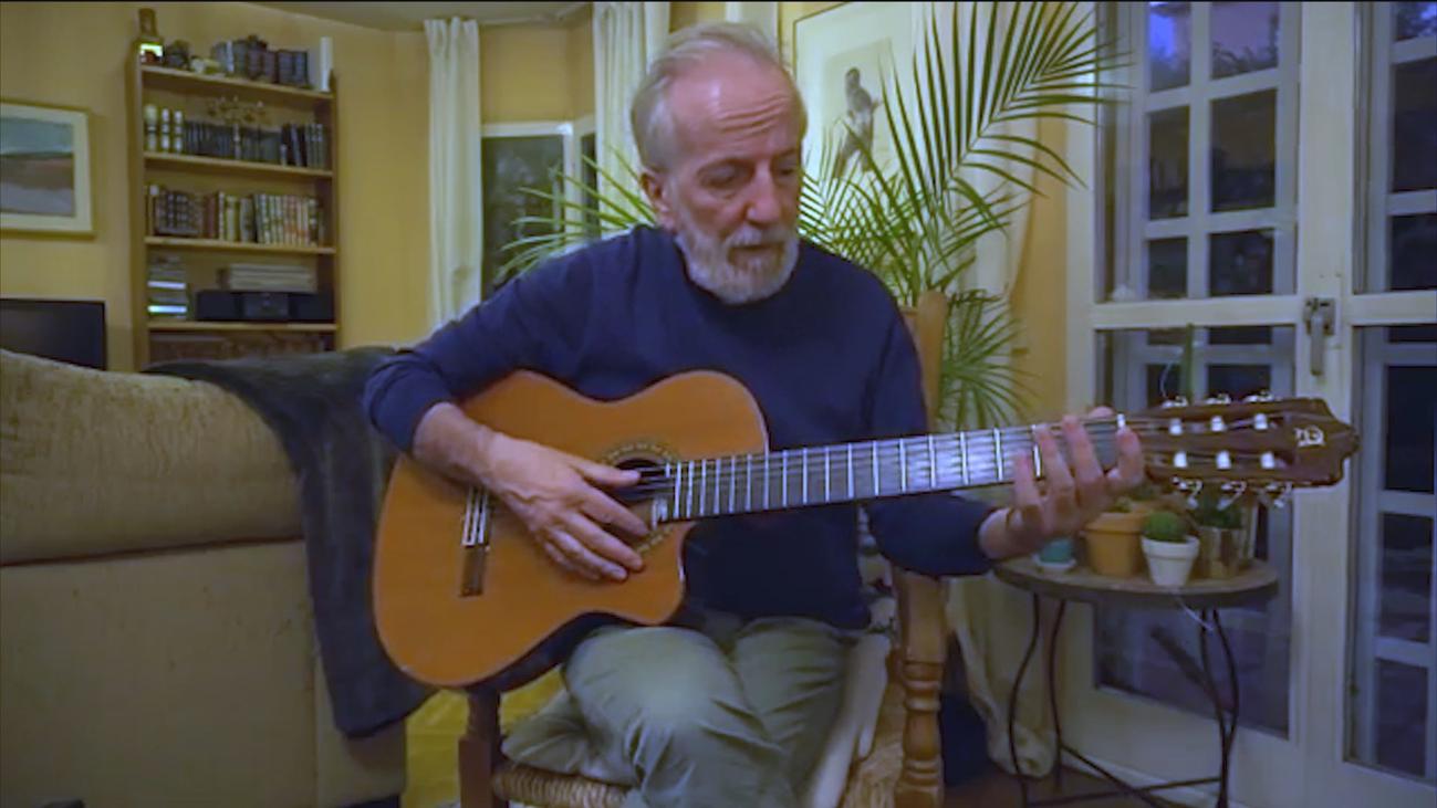 Clases de guitarra en tiempos de aislamiento con Pancho Varona
