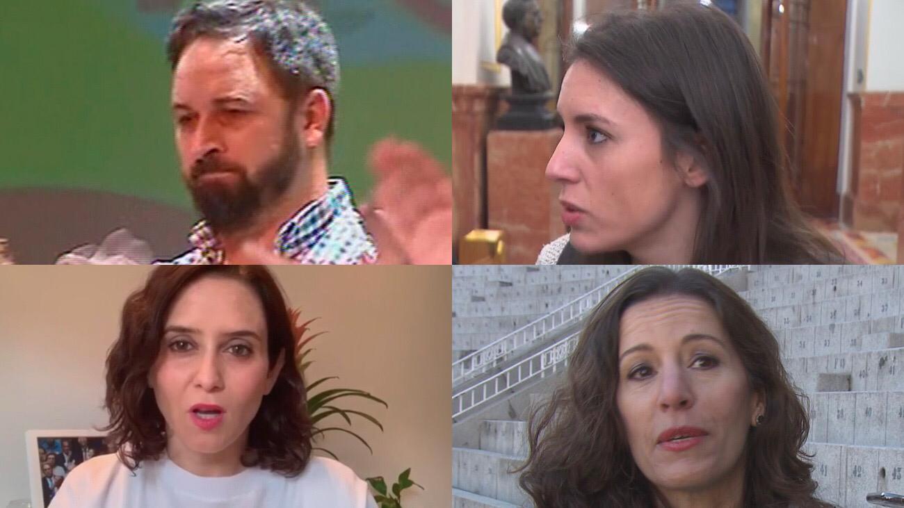 Los políticos contagiados por el coronavirus, confinados en sus casas