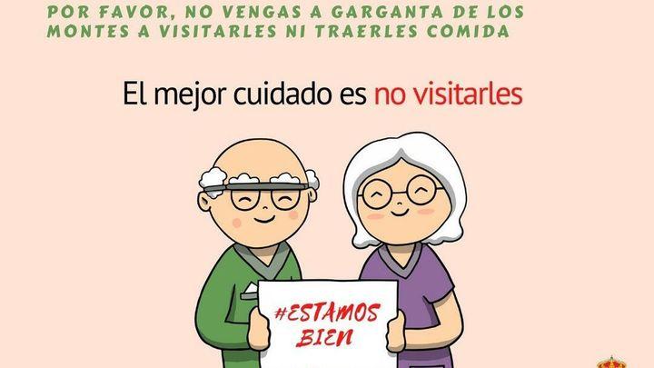 Garganta de los Montes lanza la campaña 'Este fin de semana tus abuelos te perdonan el beso'