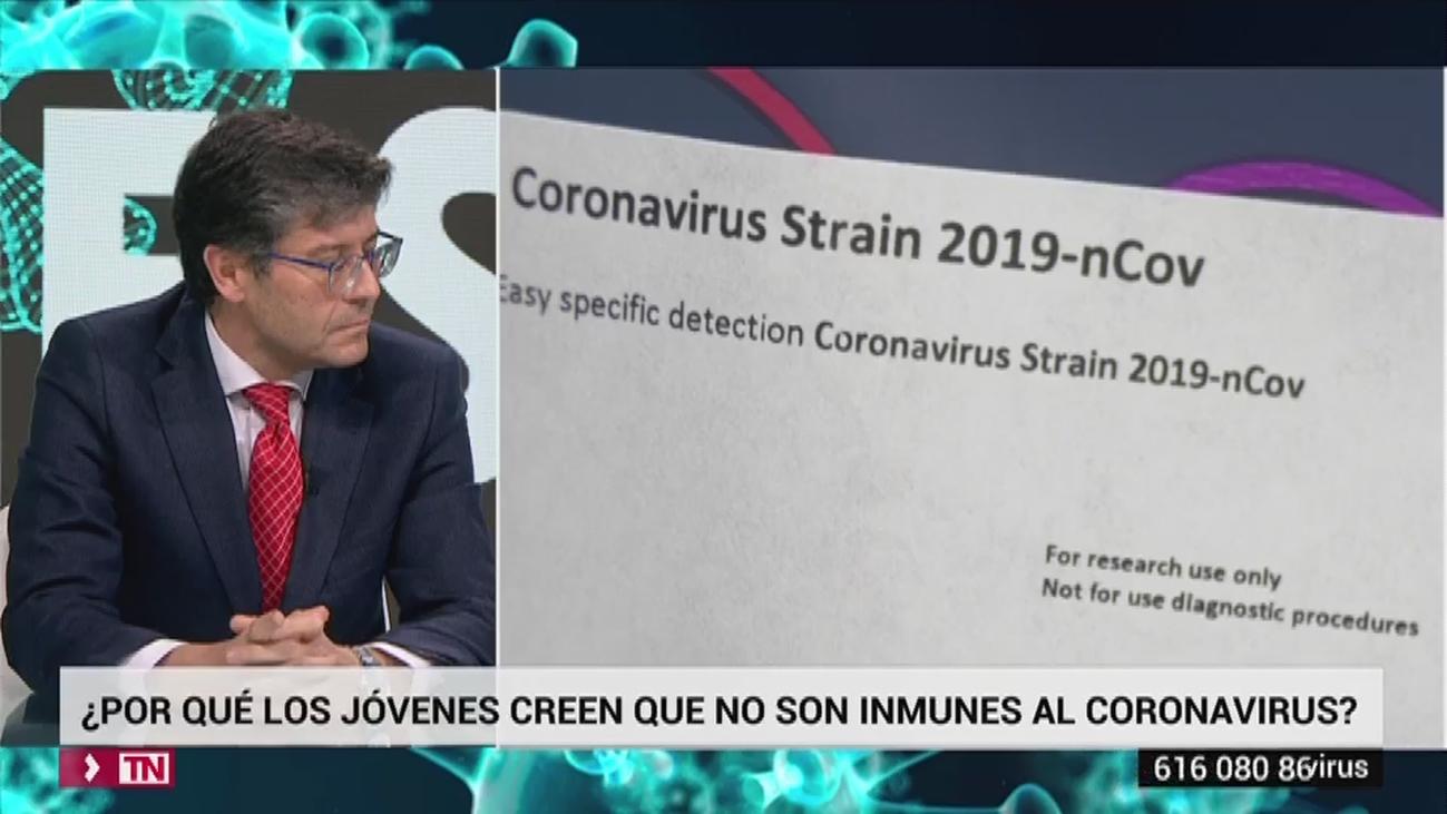 Jóvenes y coronavirus: ¿Se ha subestimado la posibilidad de contagio?