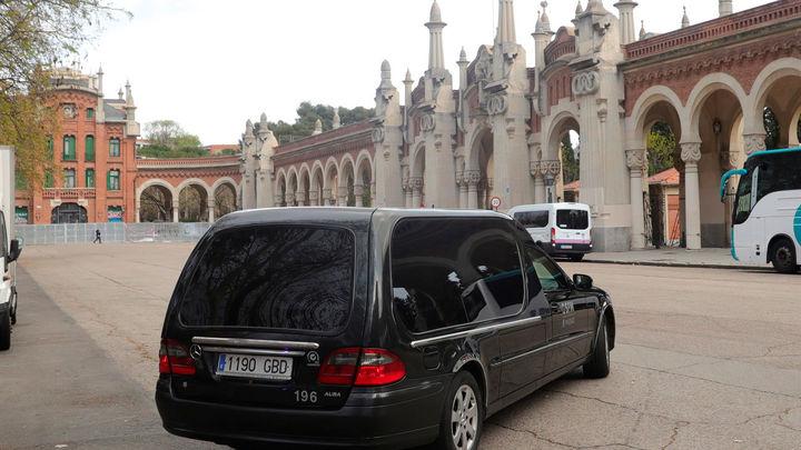 La funeraria municipal de Madrid deja de prestar servicios a fallecidos del coronavirus