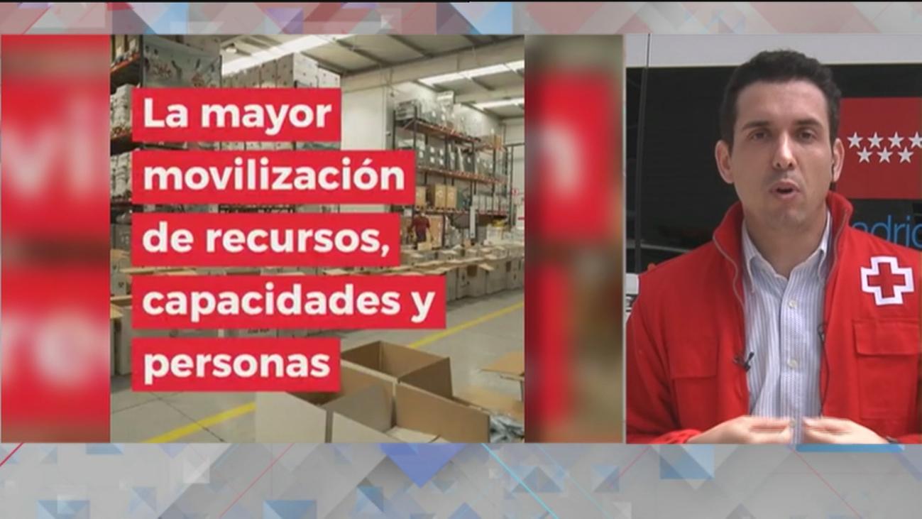 Cruz Roja lanza el mayor plan de movilización de su historia para asistir a 1,3 millones de personas
