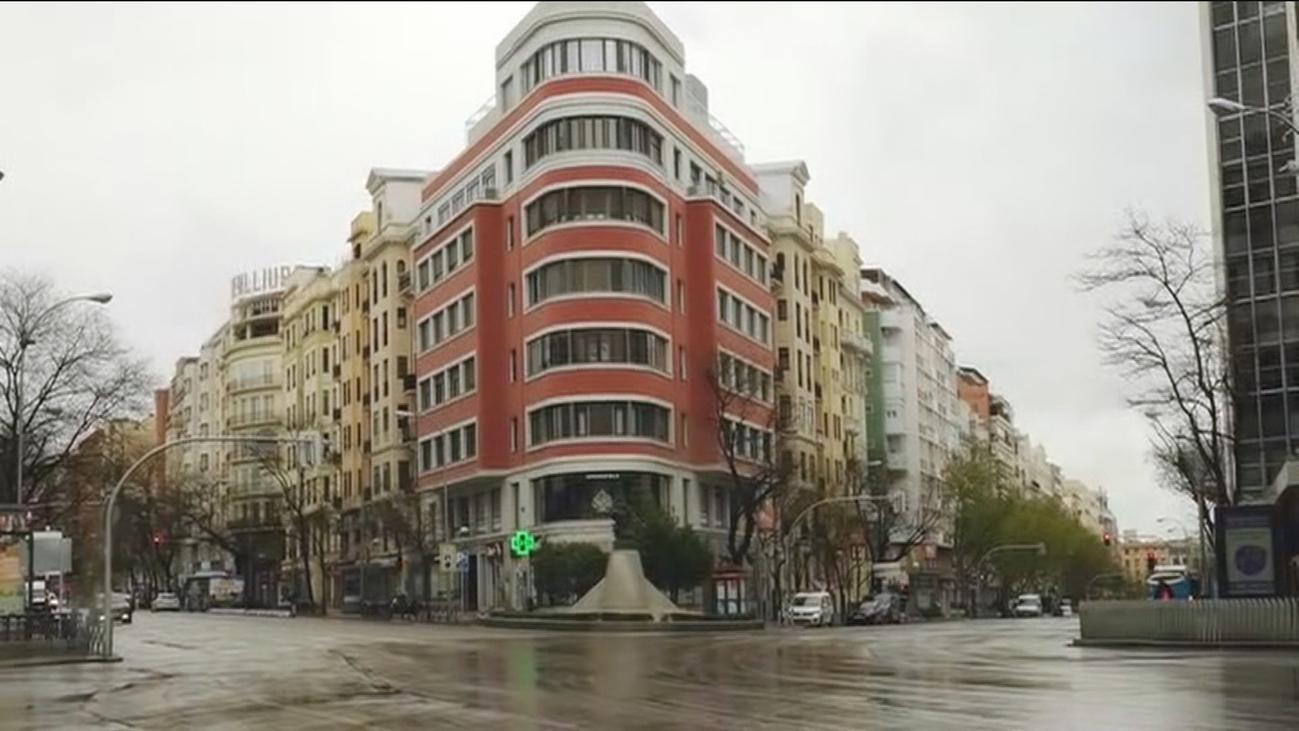 Así luce Madrid en su décimo día de aislamiento