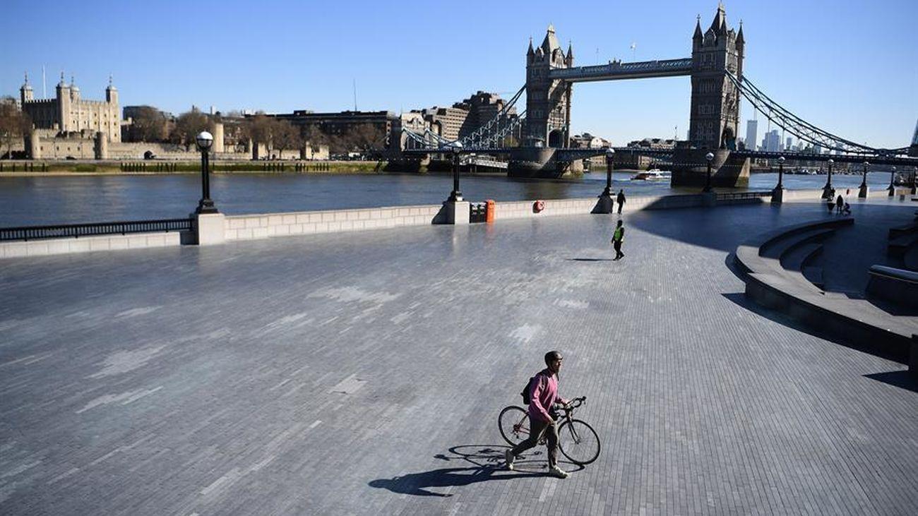 Londres se vacía por el coronavirus