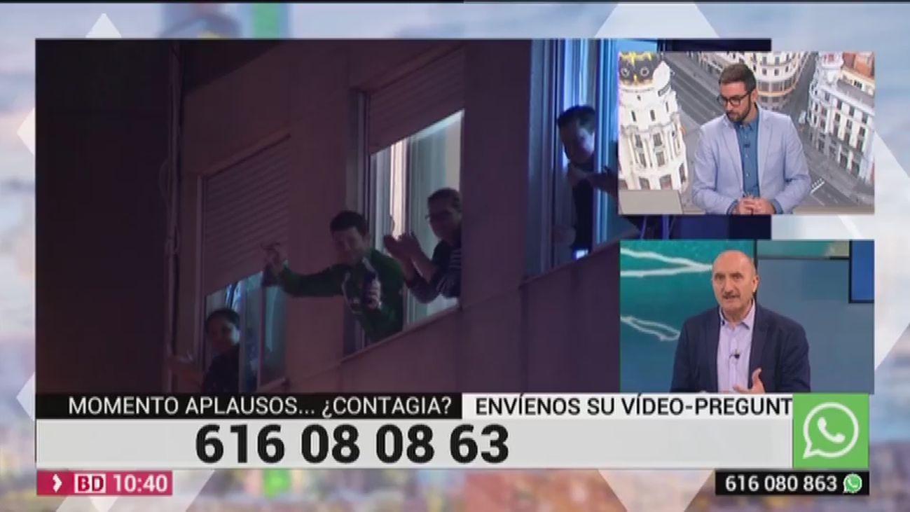 Buenos Días Madrid 24.03.2020 (10.30 - 11.30)