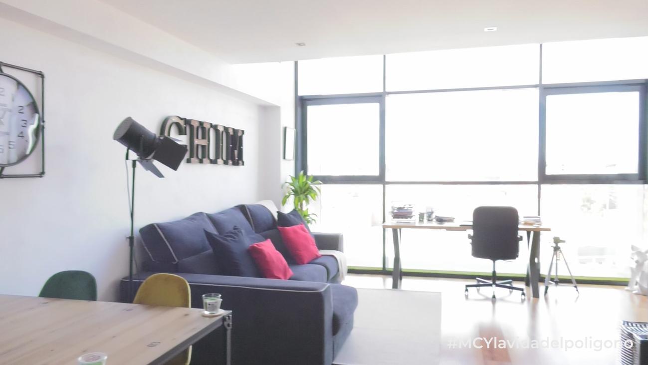 Vivir en un polígono industrial; casa y oficina
