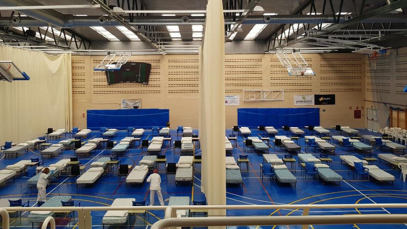 En breve funcionará en Leganés el hospital de campaña con 70 camas