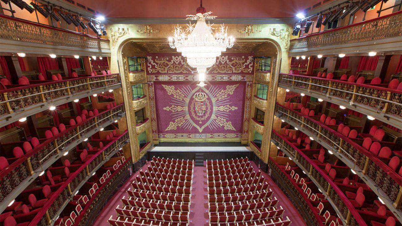Sala principal del Teatro Español