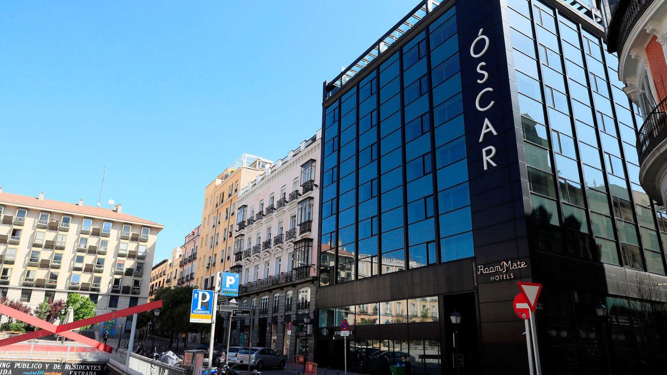 Hotel Óscar en la Plaza de Pedro Zerolo