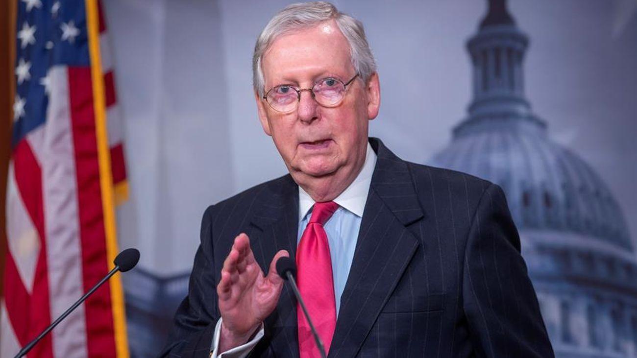 El Senado de EE.UU. anuncia la aprobación de 2,2 billones de dólares para contrarrestar el covid19