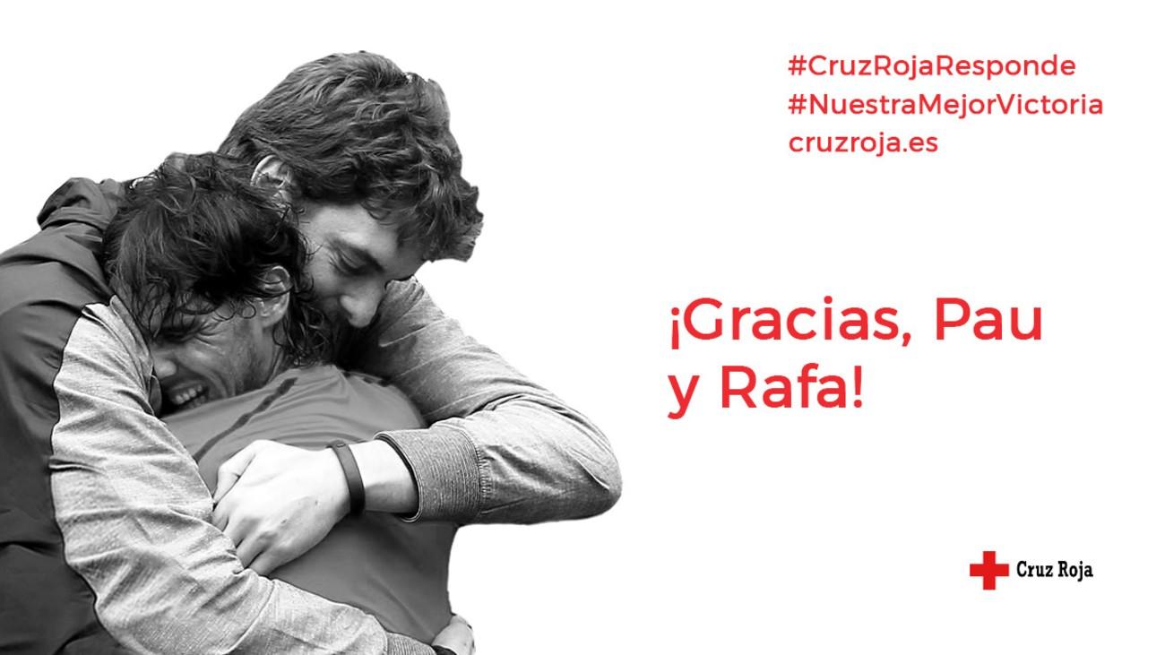 Nadal y Gasol se unen para recaudar 11 millones entre los deportistas españoles
