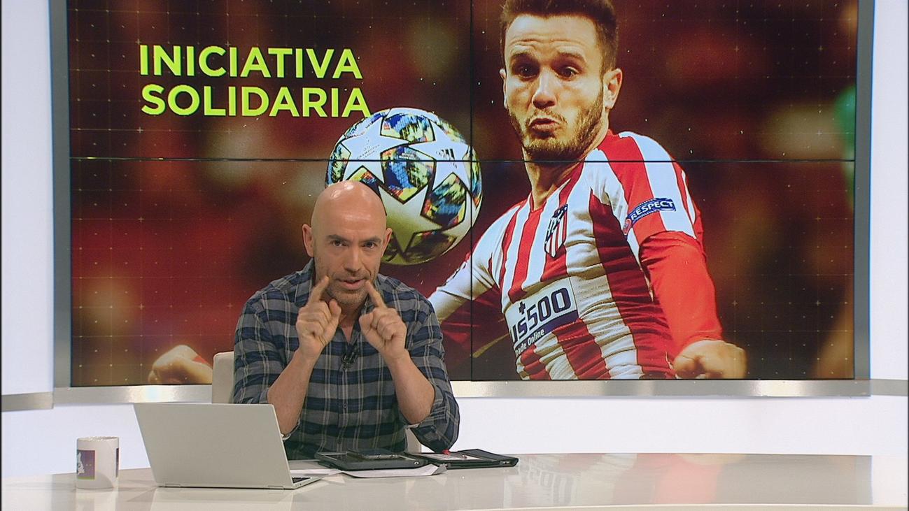 La solidaria iniciativa de Saúl Ñíguez, jugador del Atlético de Madrid