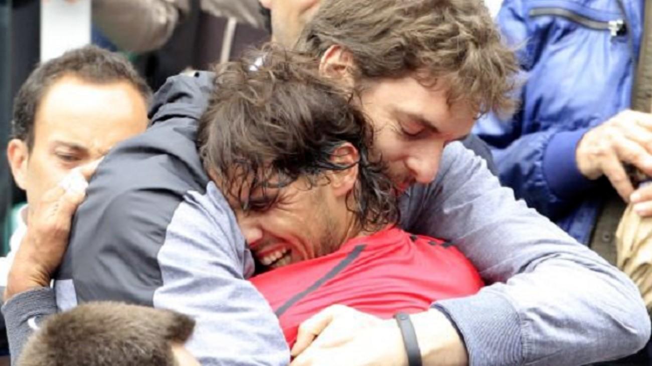 El deporte español se une a la llamada solidaria de Nadal y Gasol
