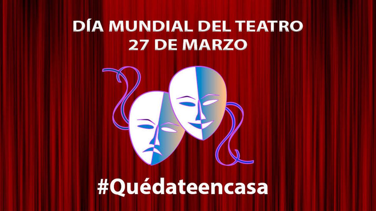 Un Día Mundial del Teatro desde casa por el coronavirus