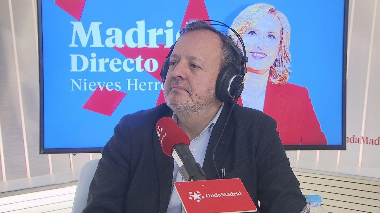 Alberto Reyero, consejero de Políticas Sociales de la Comunidad de Madrid, en Onda Madrid