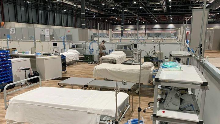 El hospital de Ifema atiende a 581 pacientes y sumará 300 en las próximas horas