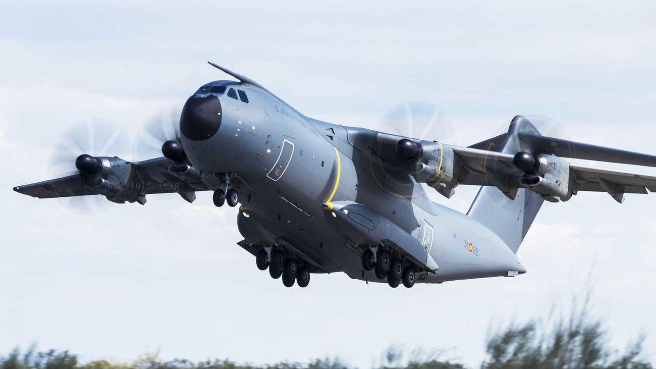 El avión del ejército del aire aterrizará este lunes en Torrejón con material sanitario de China