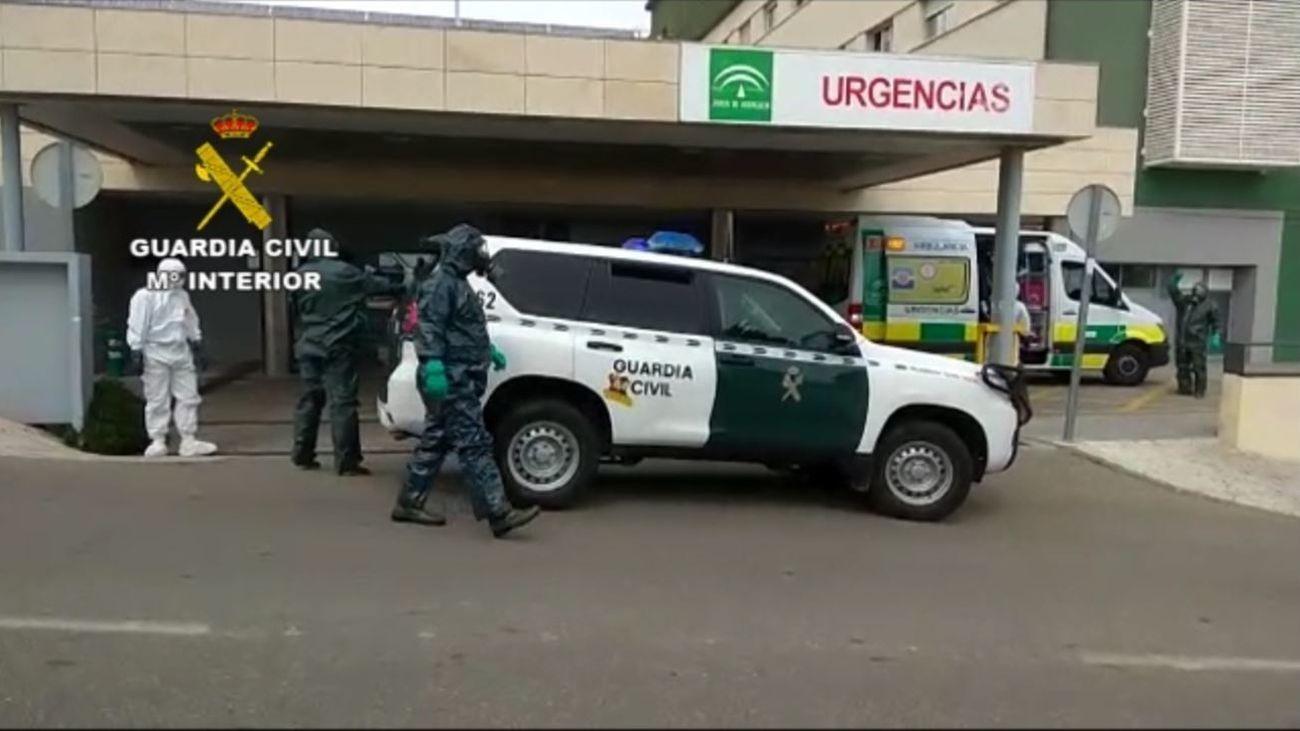 La Guardia Civil intercepta en Nerja a un positivo por coronavirus que había huido del hospital de La Paz